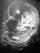 'Prima Materia' chalk on paper
