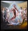 'Aldebaran'  oil & egg tempera on canvas 70x80cm €3,000 framed, free shipping worldwide