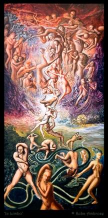 'In Limbo' acrylic on canvas